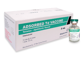 ADSORBED Td VACCINE