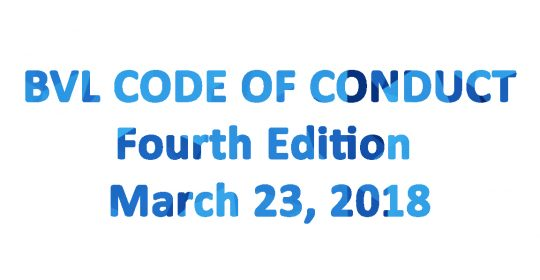 Biovalys Code of Conduct 4th Edition