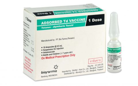 ADSORBED Td VACCINE (Single Dose)