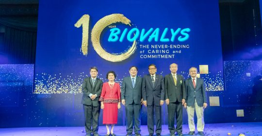 Biovalys kicks off 10th Anniversary Celebrations